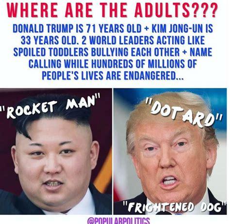 Kim And Trump Memes - top 10 dotard memes kim jong un vs donald trump