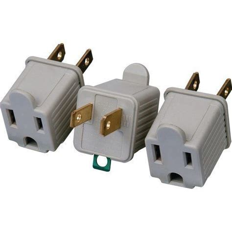 convert light socket to 3 prong outlet 3 ac outlet adapters 3 prong converter to 2 blade