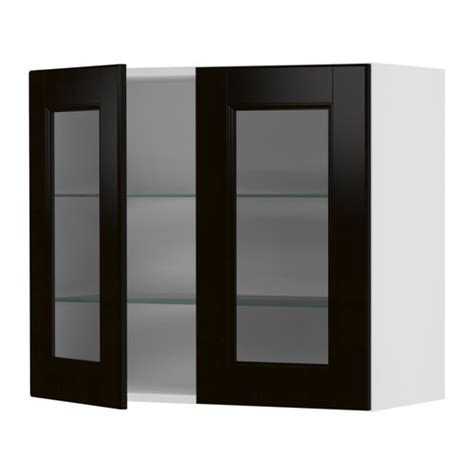 Kitchen Wall Cabinets With Glass Doors Kitchens Kitchen Supplies Ikea