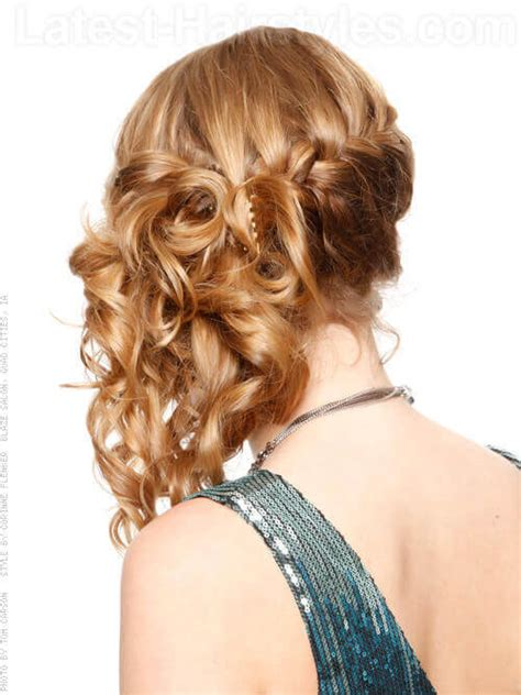 homecoming hairstyles off to the side 38 cute prom hairstyles guaranteed to turn heads