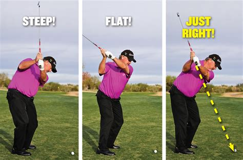 steep golf swing middle game plane simple golf tips magazine