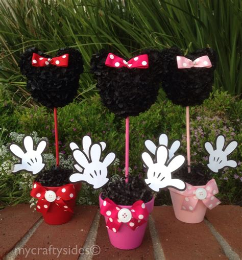 minnie mouse centerpiece 12 inch minnie mouse party