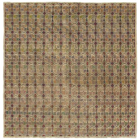Mid Century Modern Rugs Mid Century Modern Turkish Square Rug For Sale At 1stdibs
