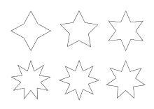 Bilder Für Die Wand Zum Selber Malen 2069 by Ausmalbilder Sterne Viele 381 Malvorlage