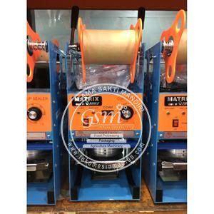 Harga Matrix Cup Sealer mesin cup sealer matrix toko alat mesin usaha