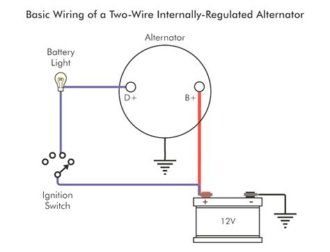 gm one wire alternator diagram wiring diagram with