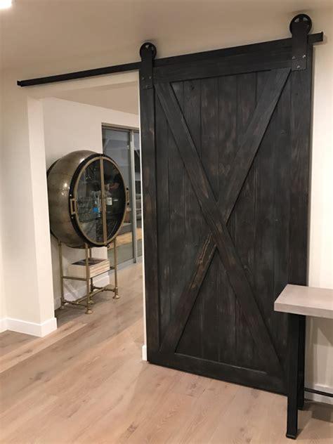 custom barn doors sliding custom x sliding barn door