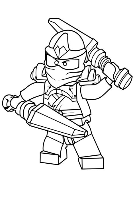 lego ninjago coloring pages free lego ninjago kai coloring pages printable