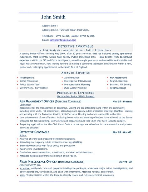 resume sle format for best resume words template resume builder