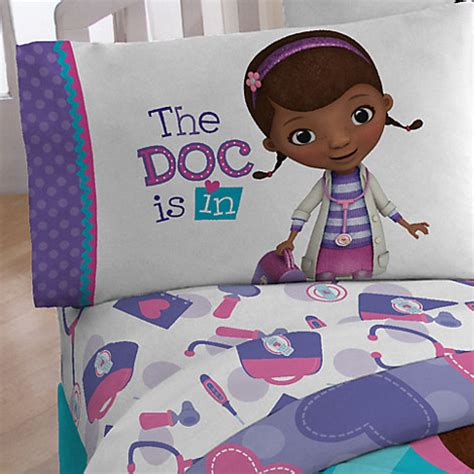 doc mcstuffin bedroom set doc mcstuffins sheet set disney junior show disney store