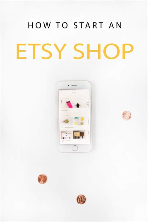 Starting An Etsy Business How To Start An Etsy Shop Pinkpot Studio