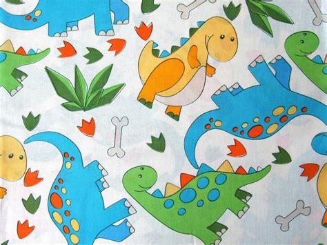 fabric crafts cotton dinosaurs bright nursery 100 cotton fabric for
