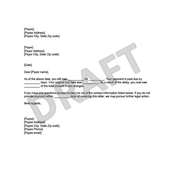 Free Demand For Payment Template Sle Create And Download Demand For Payment Letter Template