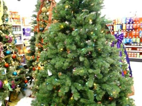 rotating christmas tree at kmart youtube