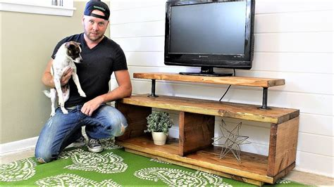Diy Rustic Cabinets The Super Easy Tv Stand Diy Project Youtube