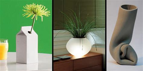 design bunga unik vas bunga yang modern dan unik