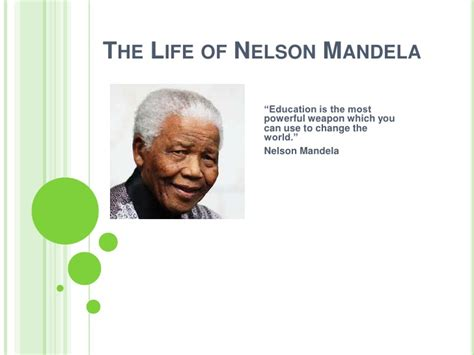 download the biography of nelson mandela nelson mandela powerpoint