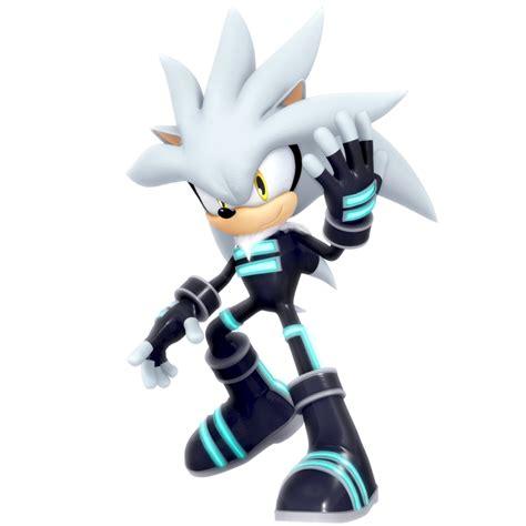 imagenes de vector sonic silver the hedgehog racesuit outfit render by nibroc