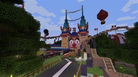 theme park names minecraft lunapark adventure 3 biggest theme park in minecraft
