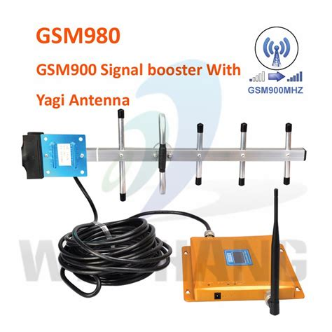 led gold 900mhz signal booster gsm 900 mobile signal repeater gsm repeater cellular signal
