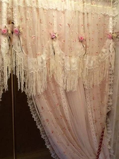 shabby chic lace curtains 53 best shabby chic curtains images on