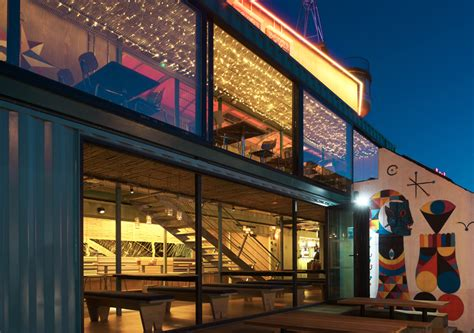 interior design container cafe the new wahaca pop up project a shipping container