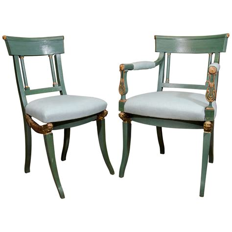 Empire Dining Chairs Set Of 12 Empire Dining Chairs At 1stdibs