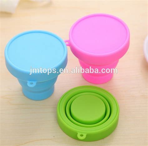 Silicone Foldable Cup Mould heat resistance foldable silicone cup food grade silicone