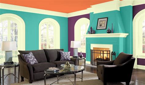 complementary color scheme room this room has a double complementary color scheme with the