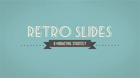 Retro Slides Keynote Template Full Hd By Opendept Retro Powerpoint Template