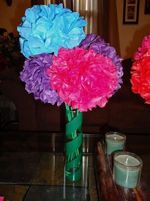 Tissue Paper Flowers In Vase by On Blackwell Tissue Paper Flowers And Fashion Vases