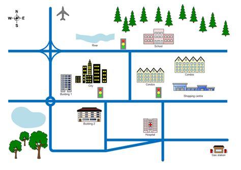 street layout maker 2d directional map exles