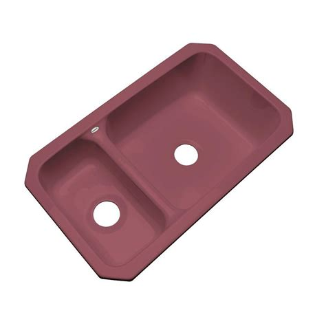 acrylic kitchen sink installation thermocast wyndham undermount acrylic 33 in bowl