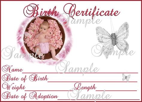 baby certificate template baby birth certificate template mughals