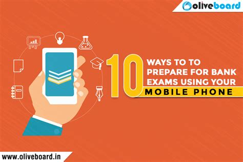How To Prep For A Strategy Mba by 10 Tips To Prepare For Bank Exams Using Your Mobile Phone