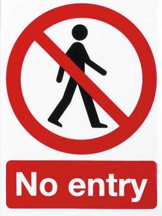 divieto di ingresso p57b s etichetta di divieto divieto di accesso entrata