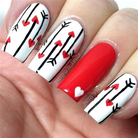 valentines nails design 50 best valentines day nail designs pink lover