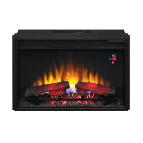 Home Depot Electric Fireplace Logs by 30 75 In Traditional Electric Fireplace Insert 74426 Bb