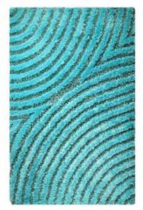 Teal Shag Rugs Rugstudio Presents Mat Orange Roca Tweed Aqua Woven Area Rug