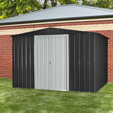 ft    ft  metal gable storage shed  images