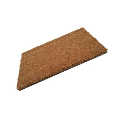 pvc backed coir door mat 900mm x 550mm quality