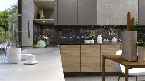 chalkboard backsplash concrete finish studio apartments ideas inspiration