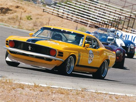 1970 ford mustang boss 302 trans am race car body in white bud a ford boss 302 with trans am looks but better performance