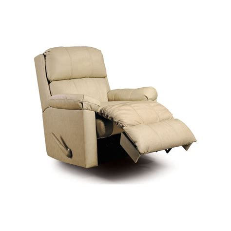 timeless leather recliner furniture timeless leather match recliner in bone