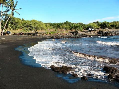 punaluu black sand beach big island 7 handsome beaches of 17 best images about big island hawaii on pinterest