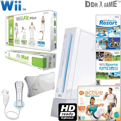 Wii Active Mat by Nintendo Wii System Wii Fit Plus Ea Sports Active