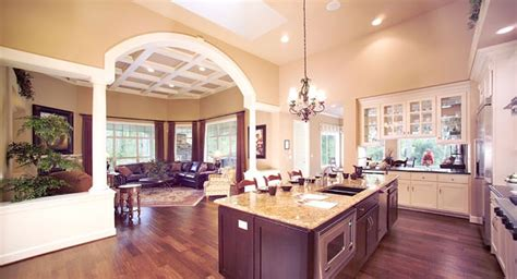 create  spacious home   open floor plan