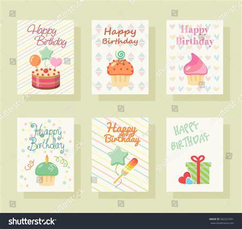 birthday invitation greeting cards happy birthday invitation card baby greeting stock vector 562227451