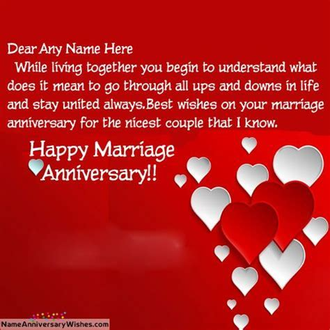 25  best ideas about Happy Marriage Anniversary on