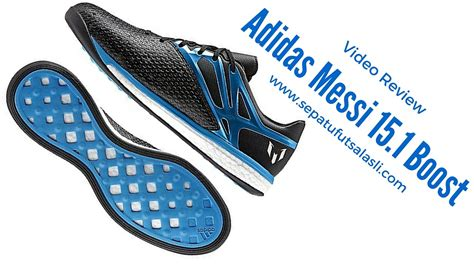 Sepatu Adidas Boost Cewekwomen Ms869 review sepatu futsal adidas messi 15 1 boost b24586
